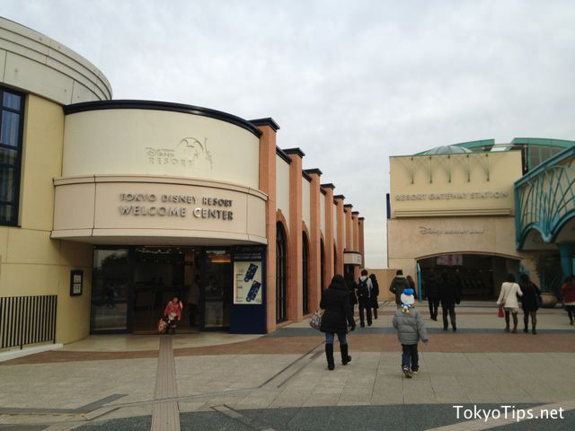 Resort Gateway Station is close the hotel. Disney Resort Line, a monorail starts out for Tokyo DisneySea from this station.