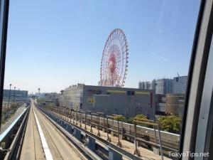 That circle is a ferris wheel of Odaiba.
